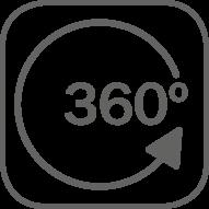 Movimiento de aire 360º