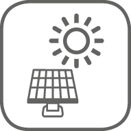 Compatible con energía solar
